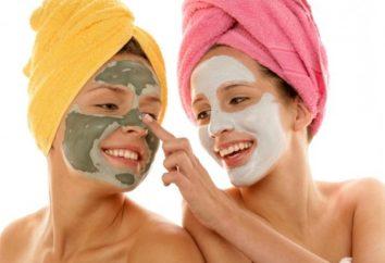 Maska przeciw czarnymi kropkami, które uczynią skórę czystą przez długi czas