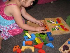 Rozwijać logiczne myślenie. Puzzle dla dzieci