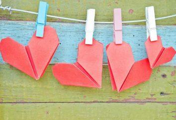 ideas interesantes: Origami en el Día de San Valentín