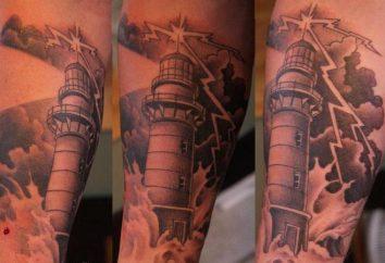 """Tatuaż """"latarnia morska"""": symbol nadziei i bezpieczeństwa"""