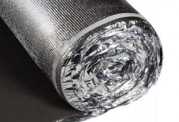 barreira de vapor Foil: tipos e aplicações