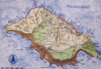 Isola Pitcairn. Territori britannici d'oltremare nell'Oceano Pacifico
