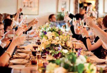 Lustiger Toast auf die Hochzeit zu den Freunden