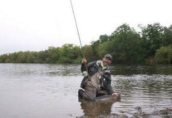 pêche excitante dans la région de Perm