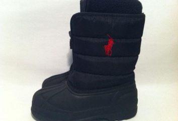 botas de invierno de los niños para el niño, los modelos populares de los fabricantes críticas
