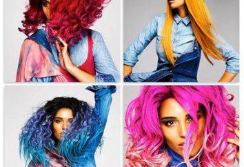 """A paleta de cores de cabelo """"Revlon"""", instruções de utilização e comentários de profissionais"""