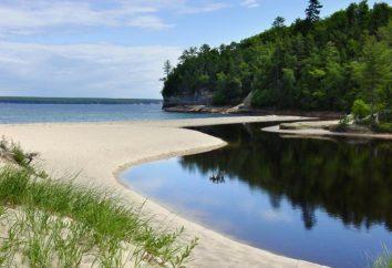 Grands Lacs d'Amérique du Nord. Nature Amérique du Nord