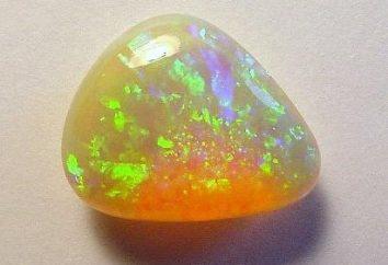 Opal feu: l'origine et les propriétés des minéraux précieux
