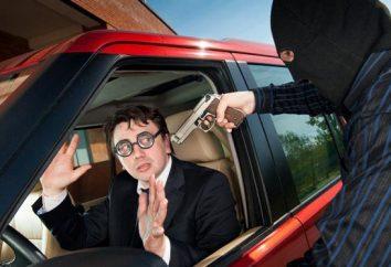 Carjacking (Artikel №166) – wie viele Jahre? Über den Diebstahl des Autos oder eines anderen Fahrzeugs