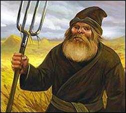 conte de fées bulgare « la poule aux œufs d'or »: complot
