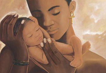 Das Hauptwort in jedem Schicksal ist das Gleichnis der Mutter