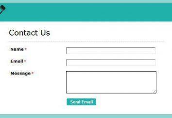 Comment faire un retour sur le site? Formulaire de commentaires pour votre site
