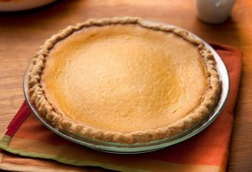 Klasyczny amerykański ciasto z dyni: Przepisy i funkcje gotowania