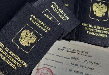 el registro de migración: reglas