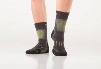 Trekking en chaussettes: une revue des fabricants. Qu'avez-vous à considérer lors de leur choix?