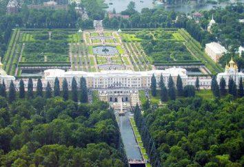 Parque de reserva histórico e cultural Peterhof: descrição das principais atrações e preços