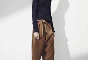 vêtements à la mode: pantalon avec odeur
