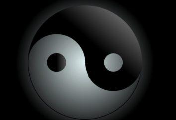"""Kobiecy i męski: znaki """"yin"""" i """"yang"""""""