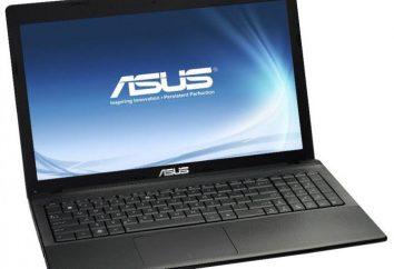 Notebook Asus X55VD Przegląd: podstawowe cechy