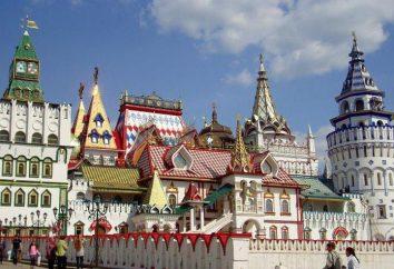 Izmailovo Kremla, Moskwa: Opis, historia, adres i ciekawostki