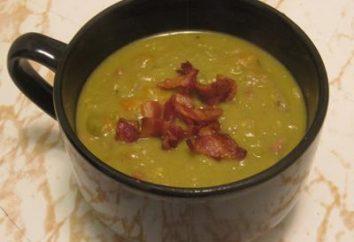 zuppa di piselli con multivarka affumicato – è facile e delizioso!