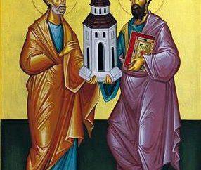 Święto Piotra i Pawła. Ikona Apostołów