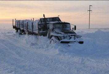 Endroit le plus froid en Russie. Russie du nord