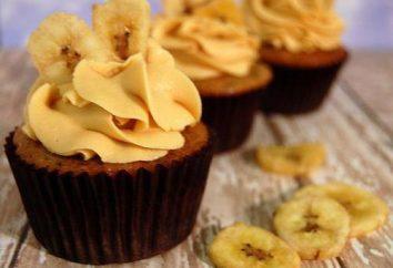 Banana Cupcakes: Garmethode