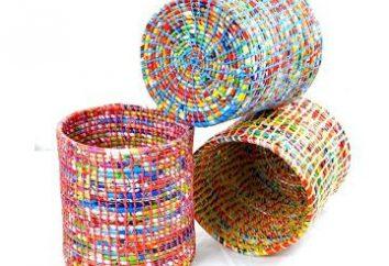 Originelle Ideen – die aus Bonbonpapier von Süßigkeiten hergestellt werden können