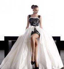 vestidos de casamento incomuns. Os vestidos de casamento mais incomuns