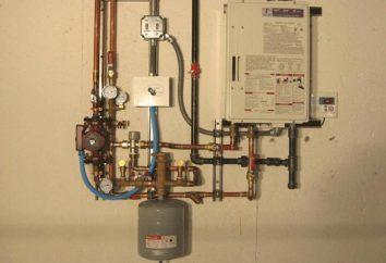 La pressione nel tipo chiuso di riscaldamento del serbatoio di espansione: manuali, principi di funzionamento