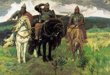 « Trois héros » (conte de fées): l'auteur des contes de fées, un résumé des noms des héros de contes de fées