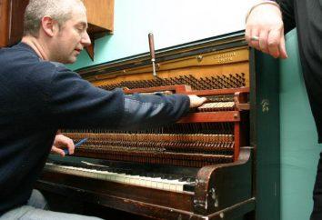 Como configurar seus próprios pianos?