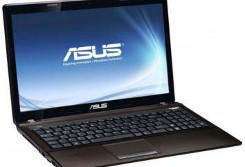 Notebook Asus K53SD: cechy i osobliwości