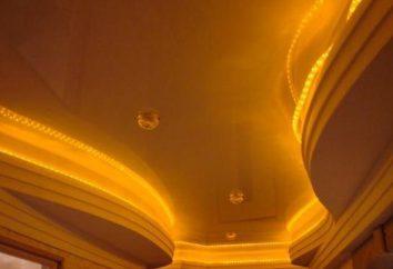 Diseño techo de yeso. soluciones audaces y originales