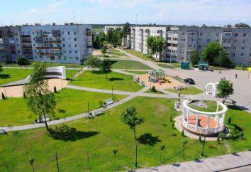 La hermosa ciudad de la región de Briansk