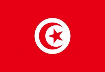 Tunisie apparence Drapeau et de l'histoire