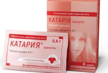 """Il farmaco """"Kataria"""": istruzioni per l'uso e il feedback"""