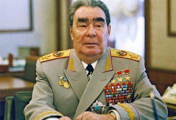 prix militaires Brezhneva Leonida Ilicha: un examen des faits d'histoire et intéressants