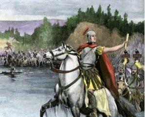 Atravessar o Rubicão e conquistar os romanos