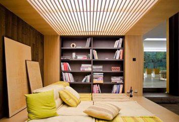 Lounge-Bereich. Der Bau der Erholungsgebiete