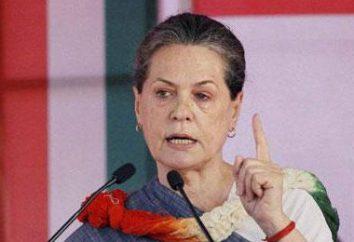 Sonia Gandhi – wdowa po byłym premierem Indii Rajiv Gandhi biografii