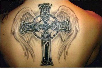 Cruz-tatuaje. ¿Qué significa y que es adecuado?
