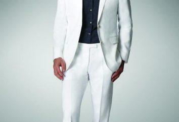 Maschio abito bianco: i segreti di una guardaroba perfetto