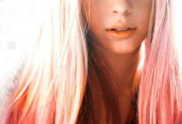 Końcówki włosów. Malować je w dowolnym kolorze?