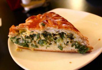 torta rápida com ovo e cebola verde em iogurte no forno: um passo a passo fotos de receitas