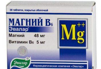 """""""Il magnesio B6"""" (Evalar): istruzioni per l'uso, descrizione, composizione e recensioni"""