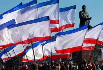 Bandiera della Crimea – l'incarnazione del coraggio, l'integrità e la libertà