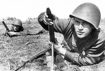 """Mortai della seconda guerra mondiale – l'Unione Sovietica e tedeschi. Usando mortaio durante la seconda guerra mondiale. """"Katyusha"""" – Seconda guerra mondiale mortaio"""