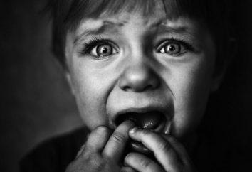 Preghiere di paura nei bambini. Cospirazioni di paura